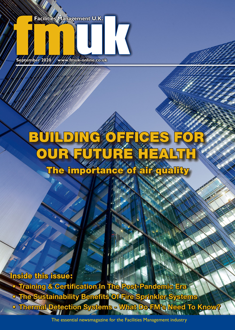 Facilities Management UK (FMUK) September 2020 issue