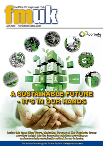 Facilities Management UK (FMUK) April 2021 front cover
