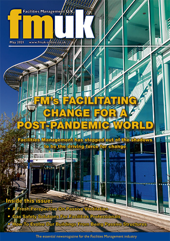 Facilities Management UK (FMUK) May 2021 front cover