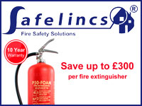 FMUK Advertiser - Safelincs Fire Safety Solutions